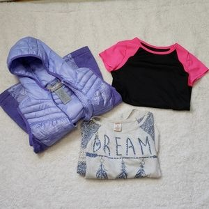 🌻3 PIECE LOT GIRLS CLOTHES SIZE 7/8